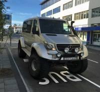 All Terrain Car, Reykjavik Visit