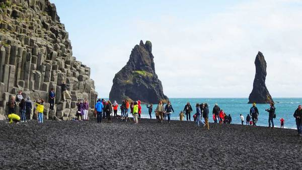 Reynisfjara Black Sand Beach, Iceland South Coast Day Trip