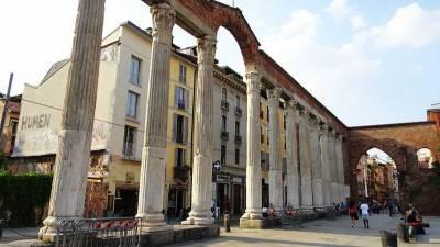 San Lorenzo Roman Columns, Milan Visit