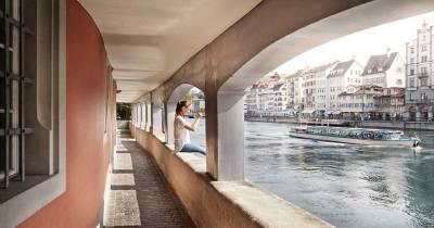 Schipfe Riverfront Walkway, Visit Zurich