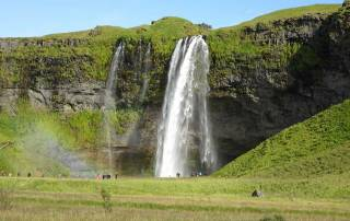 Seljalandsfoss Waterfall, Iceland South Coast Day Trip