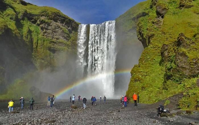 Skógafoss Waterfall, Iceland South Coast Day Trip
