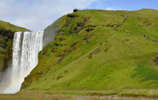 Skógafoss Waterfall, Iceland South Coast Day Trip
