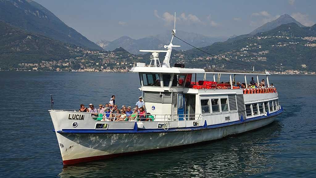 Varenna - Bellagio Passenger Ferry, Lake Como Day Trip