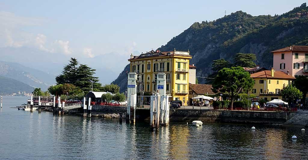 Varenna Ferry Landing, Lake Como Day Trip