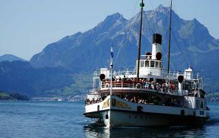 Weggis, Lake Lucerne Cruise, Mount Rigi Day Trip