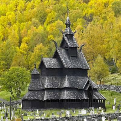 Borgund Stave Church, Laerdal