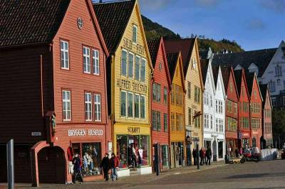 Bryggen Wharf Historic Wood Buildings, Visit Bergen