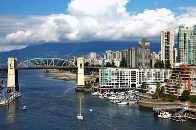Burrard St Bridge, Visit Vancouver, BC