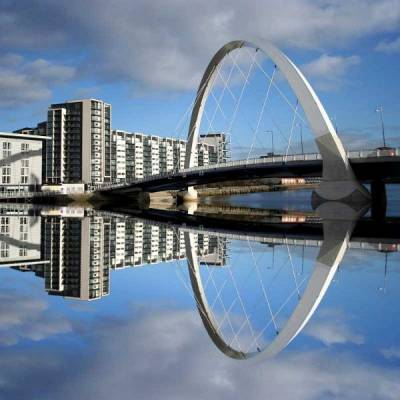 Clyde Arc Bridge, River Clyde, Visit Glasgow