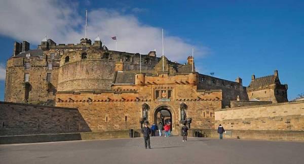 Edinburgh Castle Entrance, Visit Edinburgh