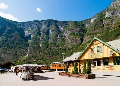 Flåm Railway Station, Visit Flam