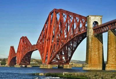 Forth Rail Bridge, Firth of Forth, Edinburgh