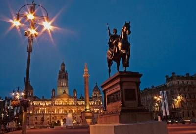 George Square, City Centre Chambers, Visit Glasgow