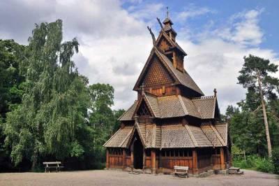 Gol Stave Church, Norsk Folkemuseum, Oslo