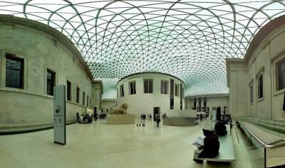 Great Court, British Museum, Visit London