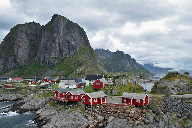 Hamnøy Fishing Village Lofoten Islands