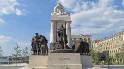 István Tisza Statue, Parliament, Budapest