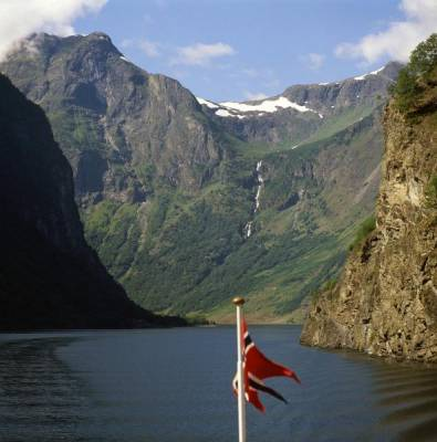 Naeroyfjord Fjord near Flam