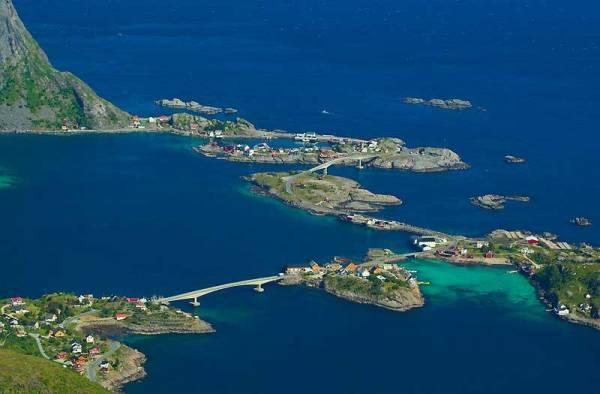 Reinebringen Viewpoint, Lofoten Islands