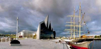 Riverside Museum, Tall Ship, River Clyde, Glasgow