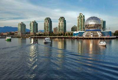 Science World, False Creek, Visit Vancouver, BC