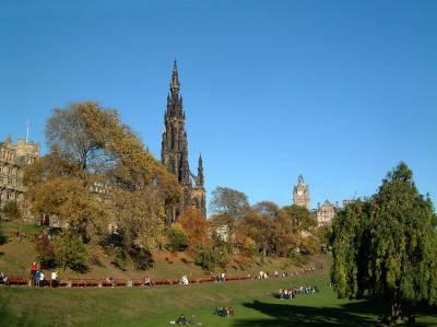Scott Monument, Princess Street Gardens, Edinburgh