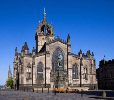 St Giles' Cathedral, Royal Mile, Edinburgh