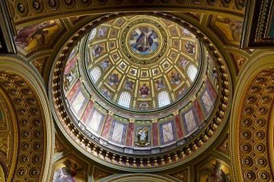 St Stephen's Basilica Dome, Budapest
