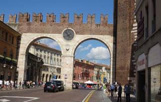 Verona Old Town Gate, Verona Visit