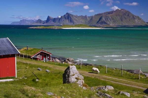 Ytresand near Ramberg, Lofoten Islands