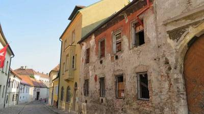 Bratislava Old Town Streets