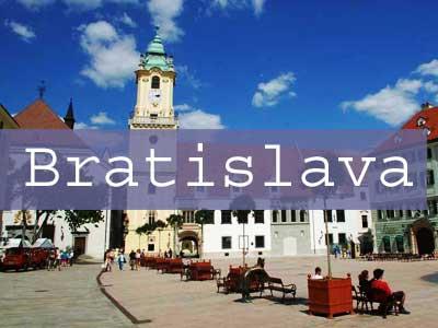Bratislava Title Page