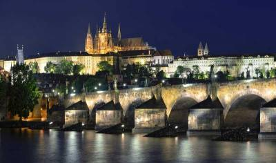 Charles Bridge, Prague Castle Hill