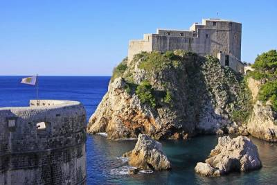 Fort Lovrijena, Old Walled-city, Dubrovnik