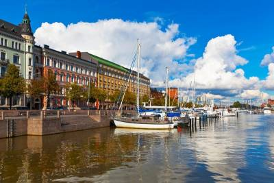 Katajanokka District near Market Square, Visit Helsinki