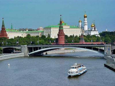 Moscow River Cruise, Kremlin, Moscow