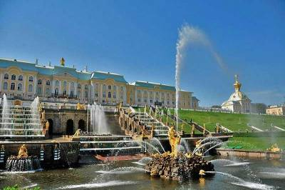Peterhof Palace, Visit St Petersburg