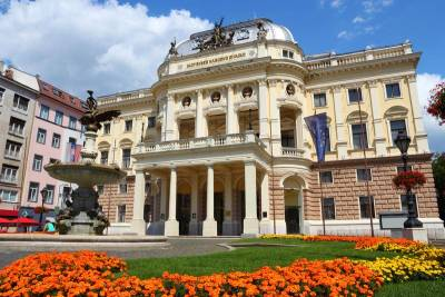 Slovak National Theater, Visit Bratislava