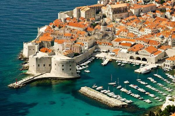 St John's Fortress, Old Harbor, Old Walled City, Dubrovnik