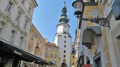 St Michael's Gate, Visit Bratislava