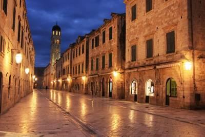 Stradun, Placa Street, Dubrovnik