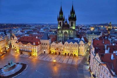 Tyn Church, Old Town Square, Prague