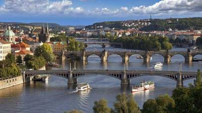 Vltava River Bridges, Prague