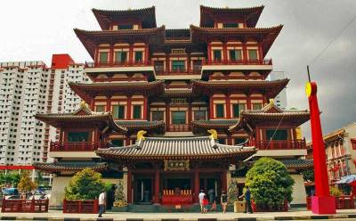 Buddha Tooth Relic Temple, Visit Singapore
