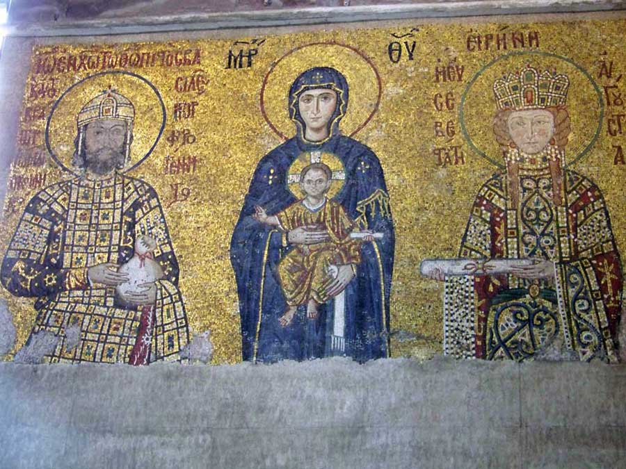Christian Mosaic, Hagia Sophia, Istanbul Shore Excursion