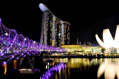 Double Helix Bridge, Visit Singapore