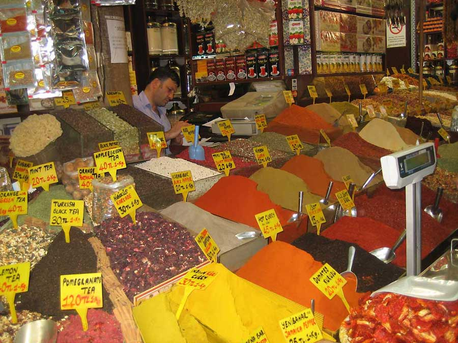 Egyptian Spice Market, Istanbul Shore Excursion