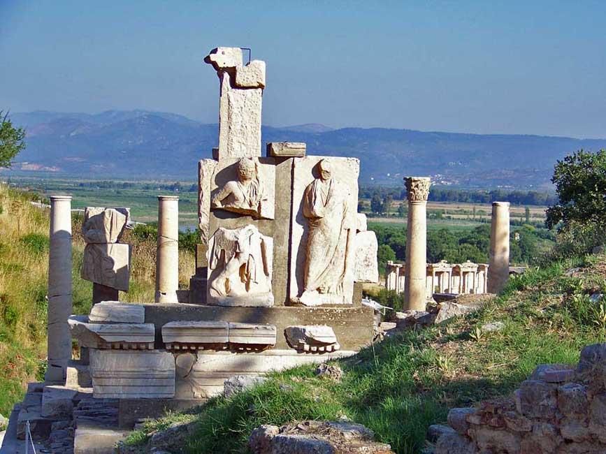 Ephesus Ancient Ruins