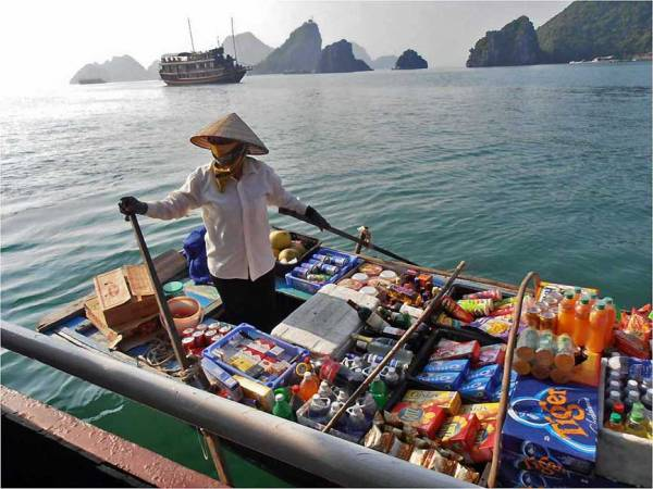 Floating Convenience Store, Visit Halong Bay